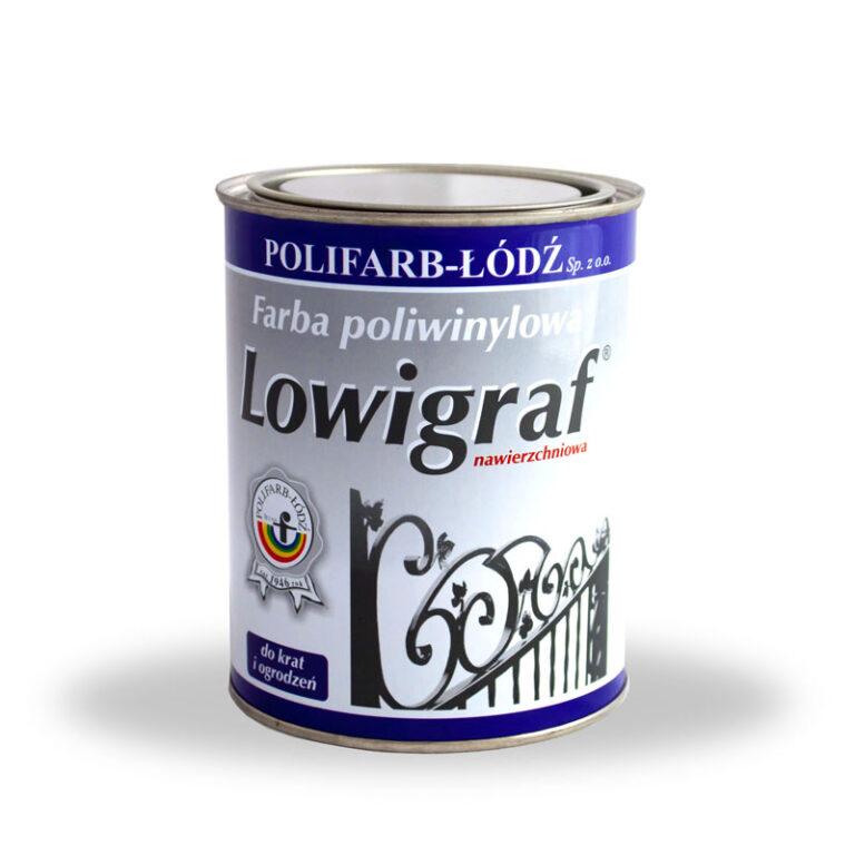 LOWIGRAF – farba poliwinylowa nawierzchniowa do krat i ogrodzeń